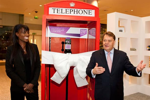 Launch: chef Lorraine Pascale and skills minister John Hayes