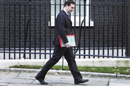 Wielding the knife: Osborne's review left councils reeling