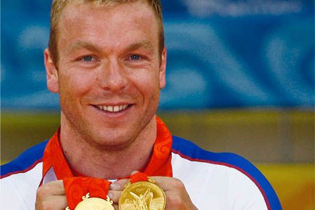Golden boy: Sir Chris Hoy