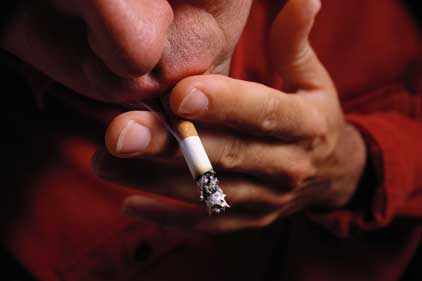 Tobacco company: faces public affairs scrutiny