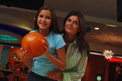 Family-friendly: ten-pin bowling