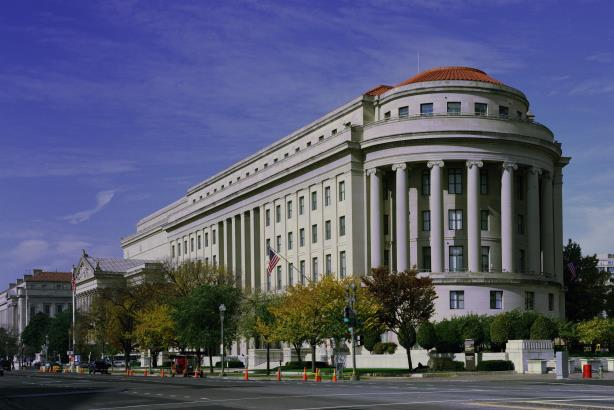 The FTC's headquarters in Washington DC.