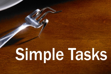 Awareness raising: 'Simple tasks' campaign from British Society for Rheumatology