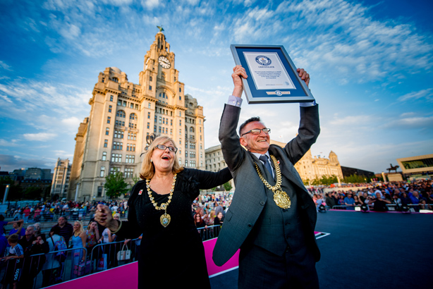 The City of Liverpool triumphed with a monumental catwalk
