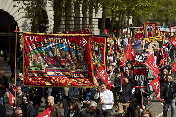 The TUC: Will meet comms teams at member unions in the coming days (Credit: NIKLAS HALLE'N/AFP/Getty Images)