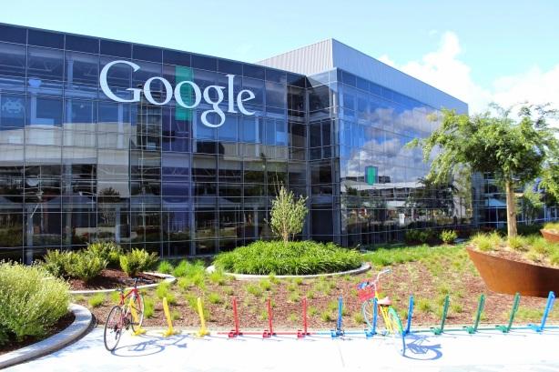 Google's Mountain View, California headquarters