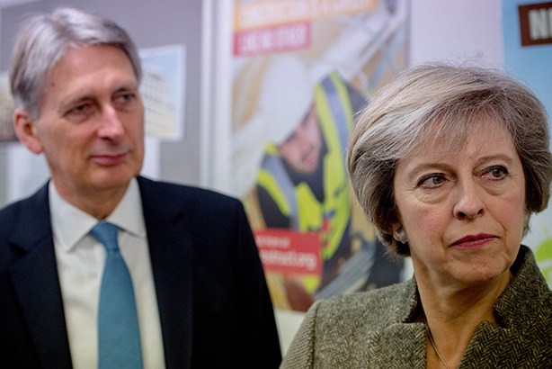 Philip Hammond and Theresa May (©Andrew Parsons/REX/Shutterstock)