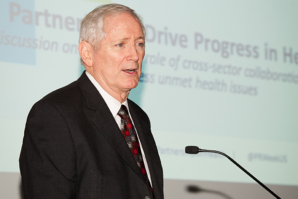 CDC Foundation president and CEO Charles Stokes