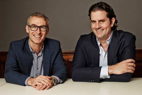 Inferno deal: carried out by Inferno's Frazer Gibney (left) and DraftFCB's Carter Murray