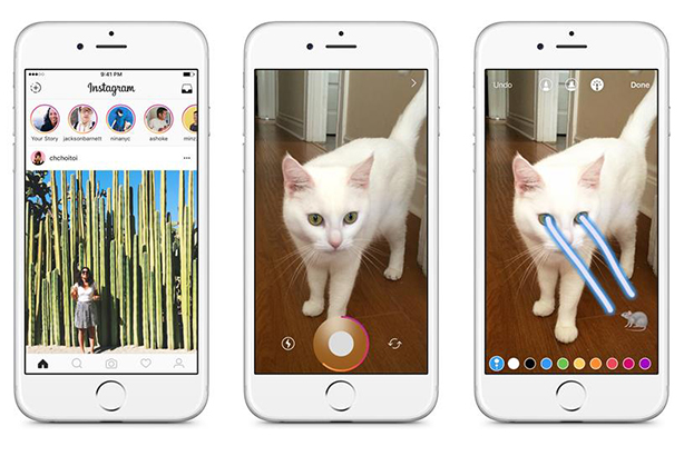 The Internet is rolling its eyes at Instagram's Snapchat 'rip off'