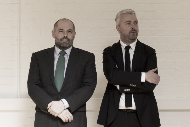 Oliver Scott and Jamie White: Have launched Overture London as independent agency