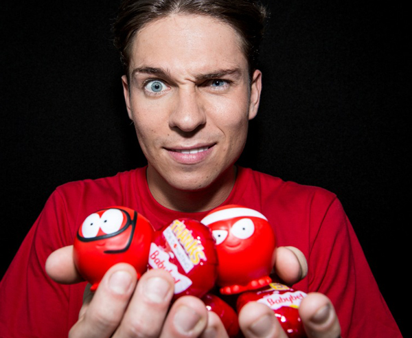 Joey Essex: Entertained shoppers at Westfield for Comic Relief