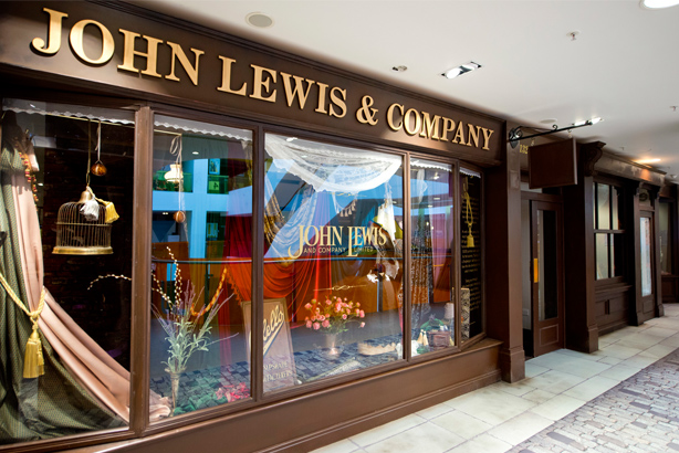 John Lewis: created an exhibition to celebrate its 150th anniversary