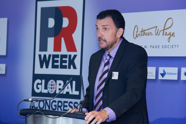 Global Congress: Jose Manuel Velasco delivers the opening keynote on governance and CSR