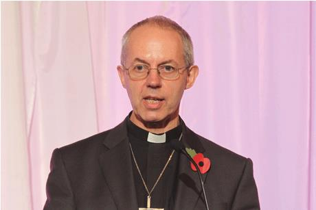 Social enthusiast: The Archbishop of Canterbury Justin Welby is a keen Twitter user