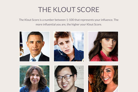 Lithium Technologies: Recently bought social media influence measurement tool Klout