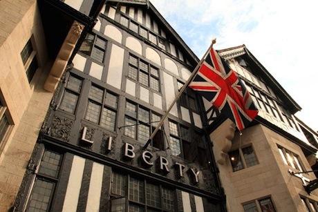 Liberty: Mock Tudor building erected in 1924