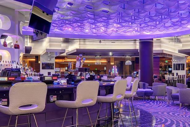 The MGM Grand Detroit's AXIS Lounge (Image via Facebook).