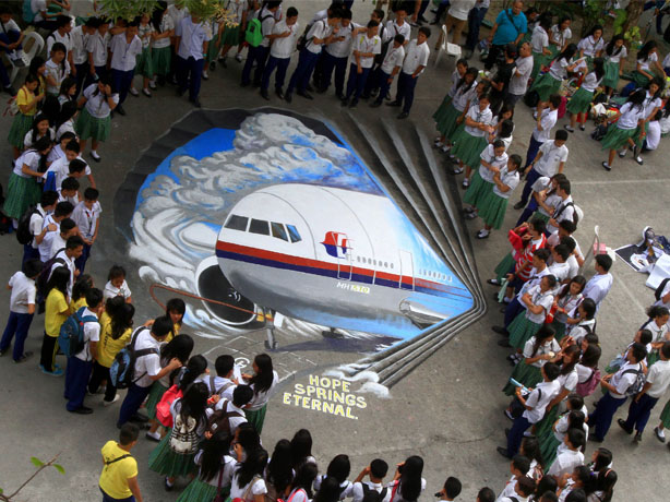 Reputation threat: Malaysia Airlines is still dealing with the crisis of its missing flight MH370 (credit: Rex Features)