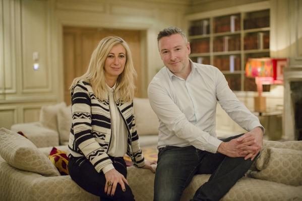 Halpern team: CEO Jenny Halpern Prince and new MD Mark Schmid