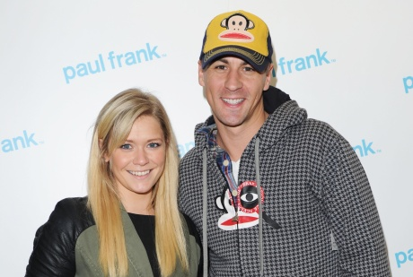 Paul Frank: TV personalities Suzanne Shaw and Matt Evers at an event last year