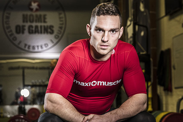 Wales rugby international and Maximuscle ambassador George North
