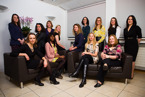 Some participants from the 2014 menotring scheme led by Women in PR and PRWeek UK