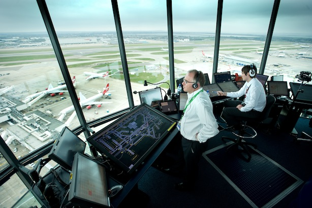 Lockheed: claims its air traffic management systems help two million commercial flights safely navigate UK skies each year