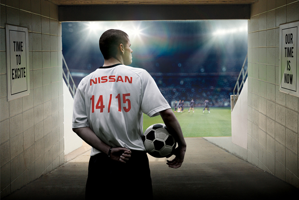 Ketchum: hired by Nissan to support their UEFA sponsorship deal