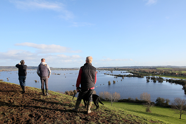 Flooding on the Somerset Levels in February 2014 (© Alastair Grant/AP/Press Association Images)