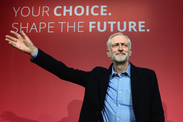 Corbyn: Labour left turn (Photo credit: Stefan Rousseau/PA Wire/PA Images)