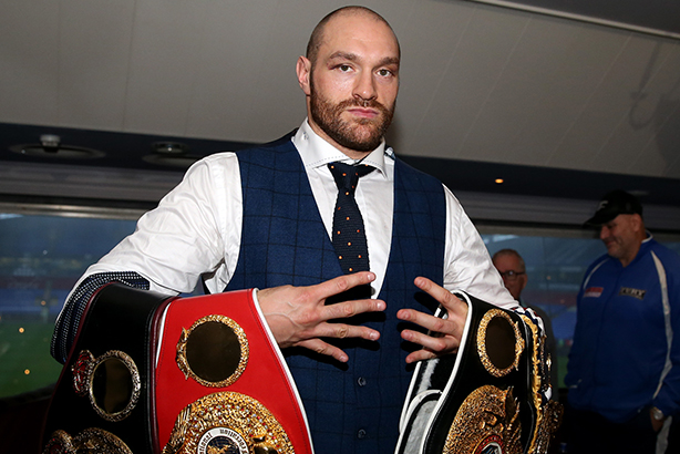 Tyson Fury: World heavyweight champion (credit: Simon Cooper / PA Wire/Press Association Images)
