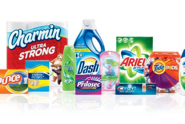 Some of P&G's leading brands