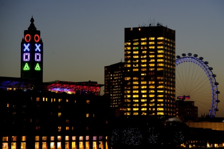 OXO Tower taken over by PlayStation