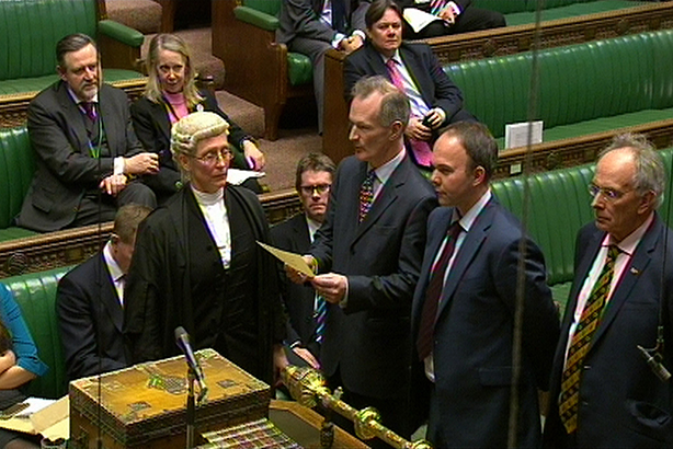 MPs vote in the House of Commons (Credit: PA/PA Wire/Press Association Images)
