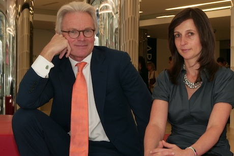 Peter Scott and Debbie Klein: Engine's group CEO and UK CEO
