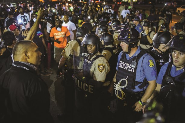 The death of unarmed black teenager Michael Brown sparked riots in Ferguson, Missouri