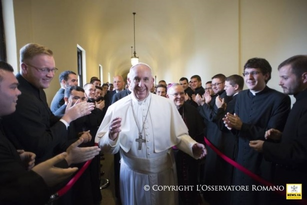 Photo of Pope Francis in Philadelphia from News.va Facebook page.