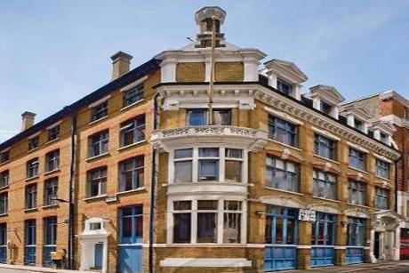 Premier: its new office on Bucknall Street, London WC2
