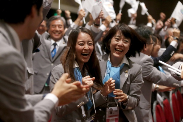 Public Sector Winner: Weber Shandwick for Tokyo 2020 Bid Committee