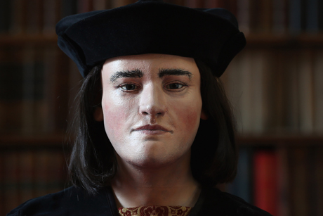 Face of a king: Richard III's 3D facial reconstruction was unveiled exclusively on Channel 4