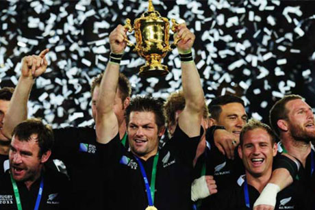 Team to beat: New Zealand were the 2011 World Cup winners (Credit: All Blacks)