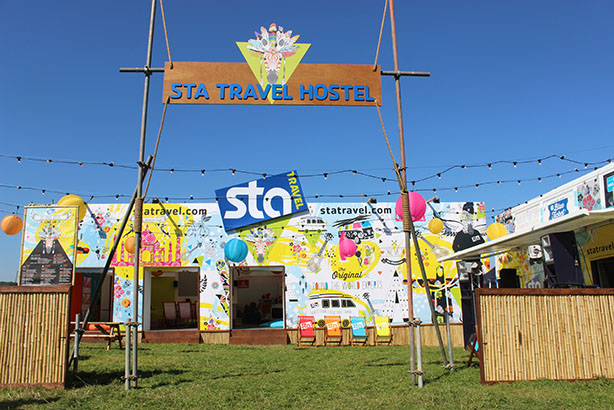 STA works with student marketing agency Campus Group on its presence at Bestival