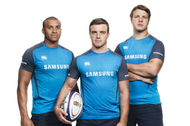 Joseph, Ford and Launchbury: England rugby stars and Samsung ambassadors
