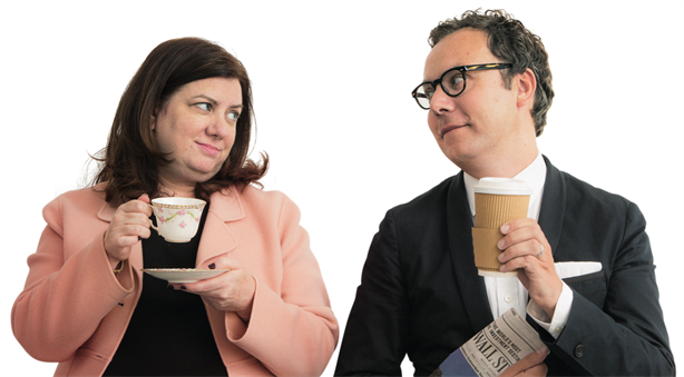 US vs UK: Ketchum's Denise Kaufmann and Golin's Matt Neale