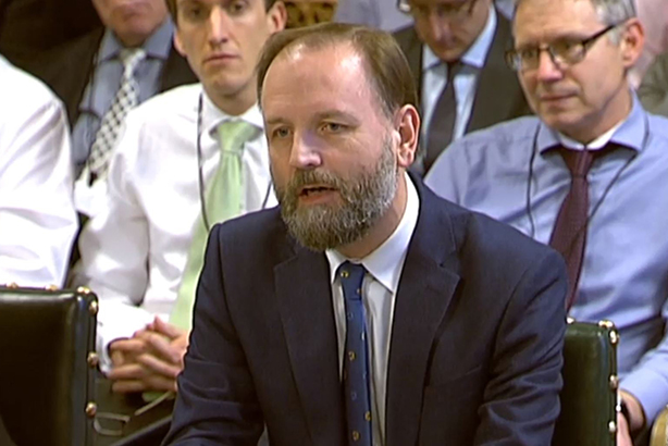 NHS England chief Simon Stevens gives evidence to the PAC last week. (©PA Wire)