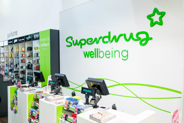 Superdrug's first wellbeing story in Banbury, Oxfordshire