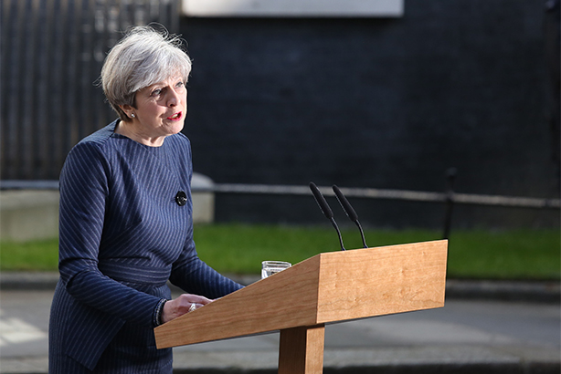 Theresa May has called a general election, but can she get voters to turn out? (©Philip Toscano/PA Wire/PA Images)