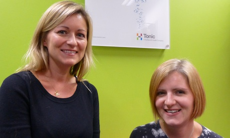 Tonic Life staff moves: Stephanie Bunten (l) and Tamsin Tierney