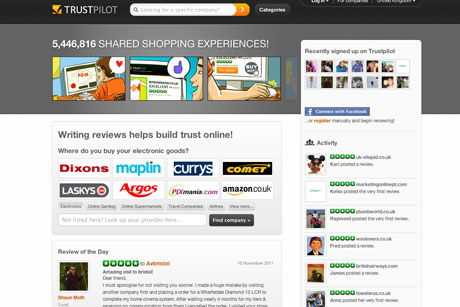 Trustpilot: 3 Monkeys to drive UK and international PR push